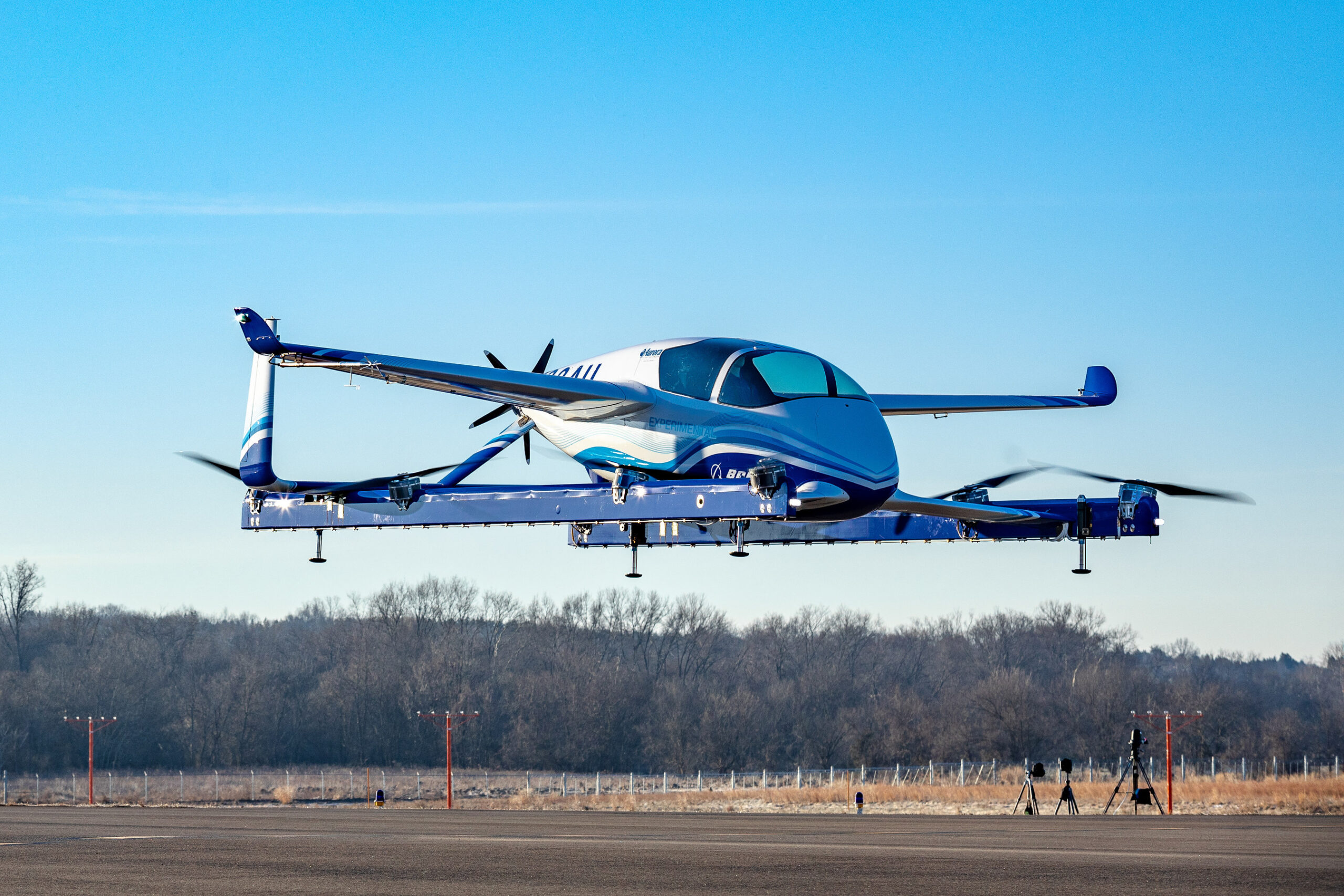 Boeing's Autonomous Passenger Air Vehicle completes its first flight