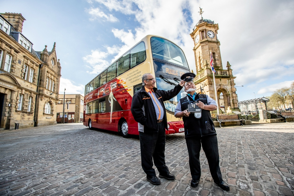 Transdev unveils centenary bus to commemorate Ribble 100
