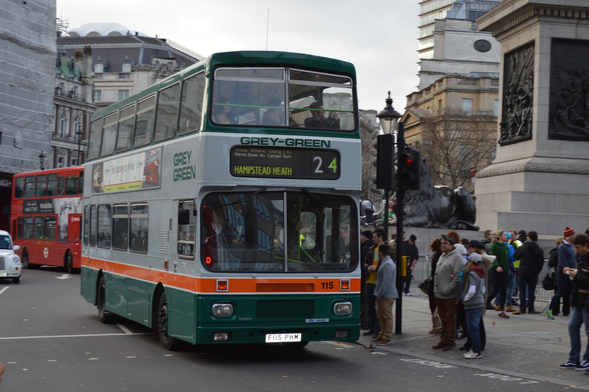 #AYearOfBuses 24: Pimlico – Hampstead Heath