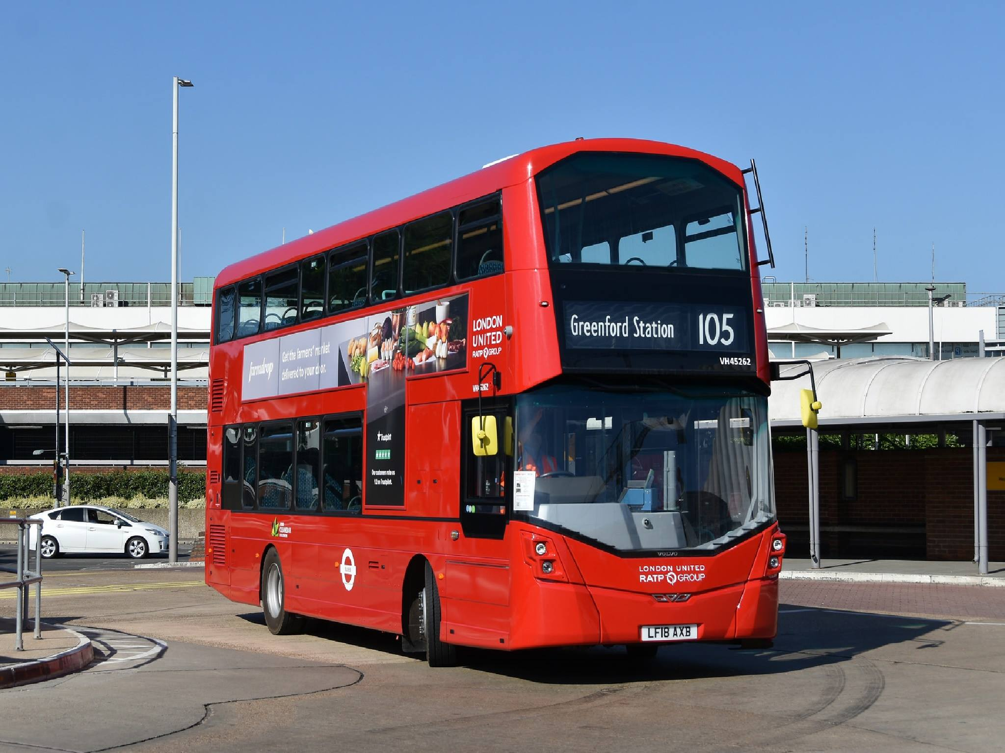 #AYearOfBuses 105: Greenford – Heathrow Central