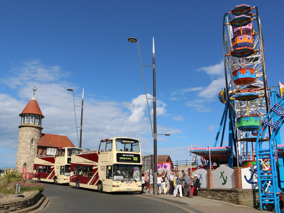 #AYearOfBuses 109: Scarborough's Seafront Service