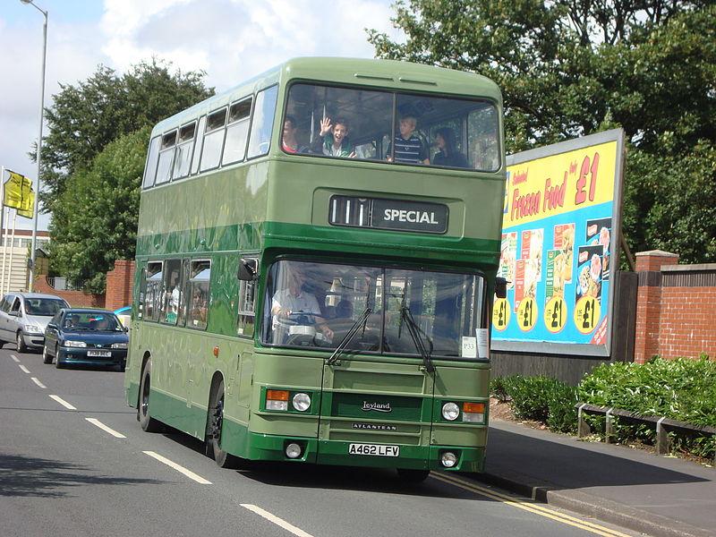 #AYearOfBuses 111: Preston – Leyland