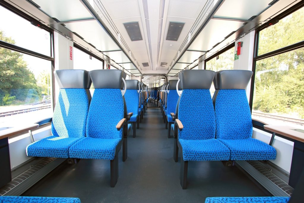 Coradia iLint seating
