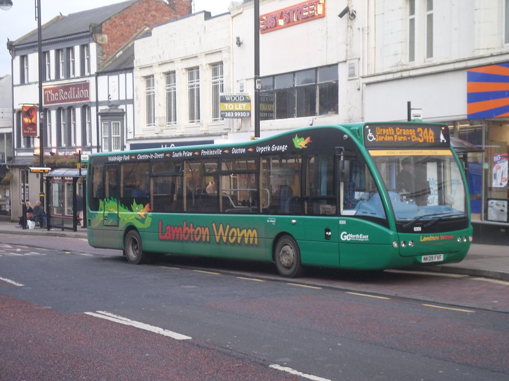 #AYearOfBuses 334: Lambton Worm