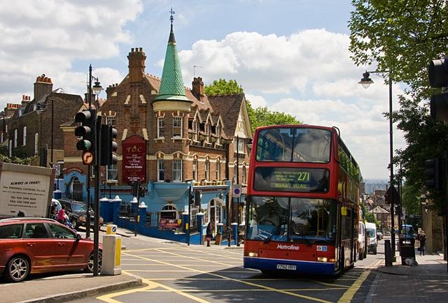 #AYearOfBuses 271: Highgate Village – Moorgate