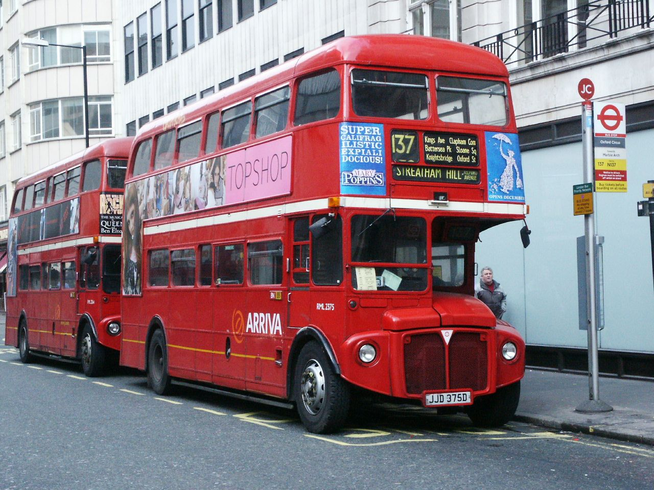 #AYearOfBuses 137: Marble Arch – Streatham Hill