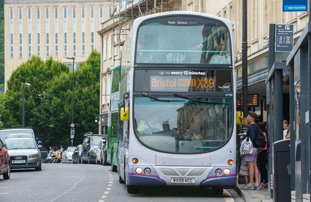 Bath and Bristol X39