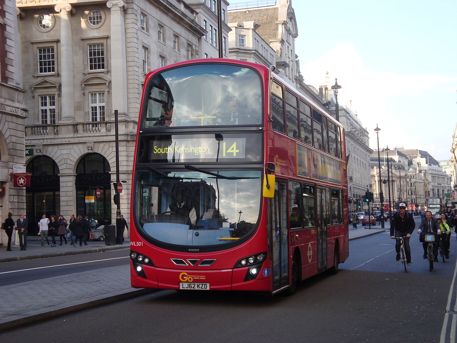 #AYearOfBuses 314: Russell Square – Putney Heath
