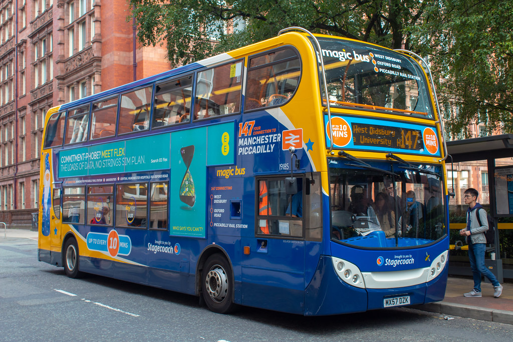 #AYearOfBuses 147: Manchester – West Didsbury