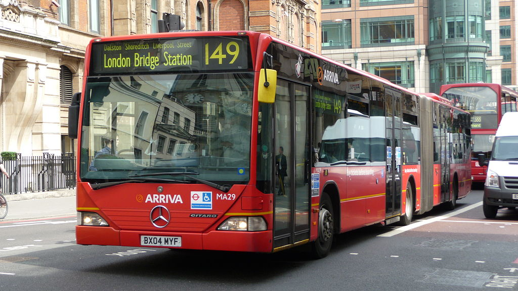 #AYearOfBuses 149: Edmonton Green – London Bridge
