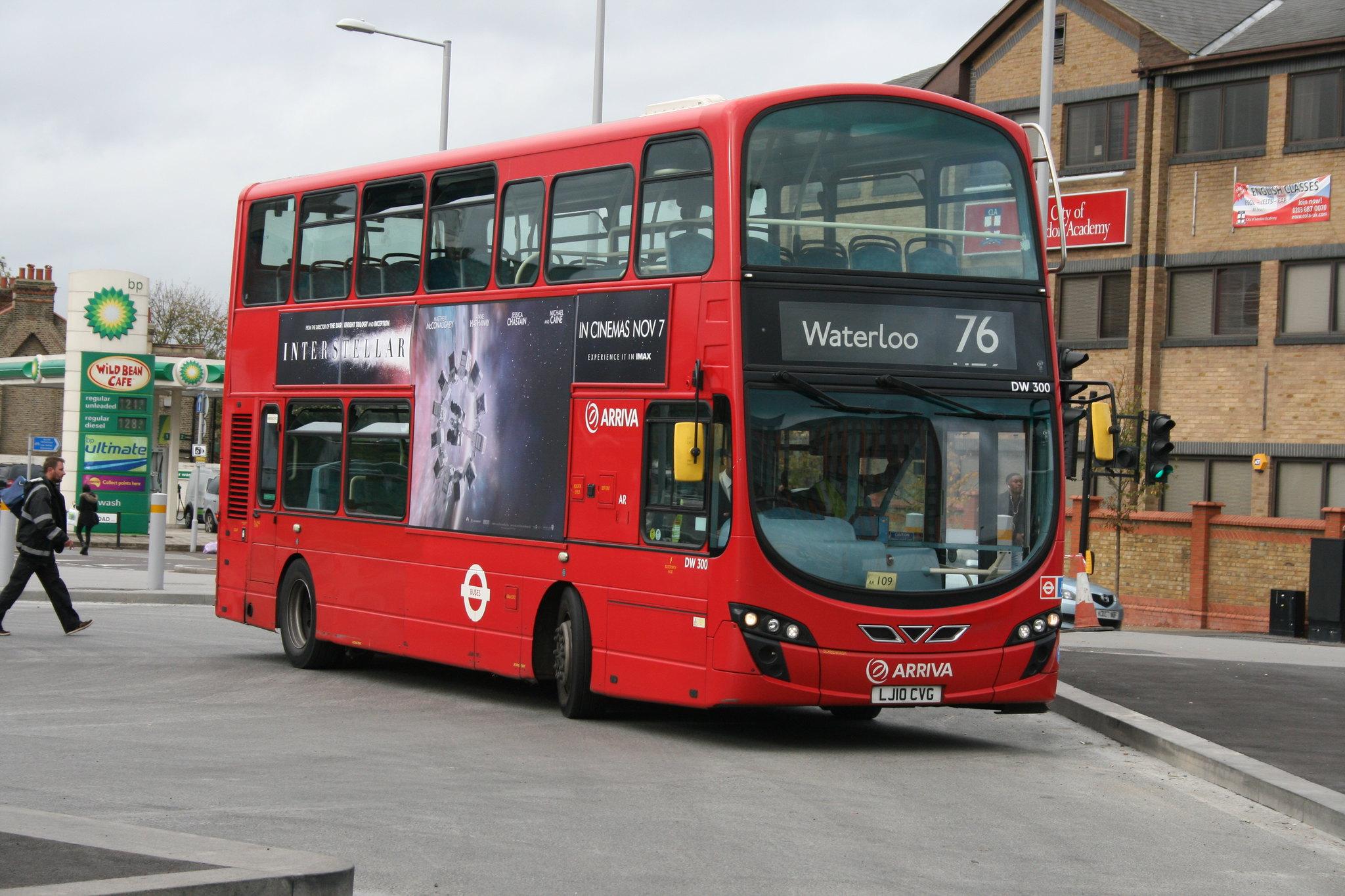 #AYearOfBuses 276: Tottenham Hale – Waterloo