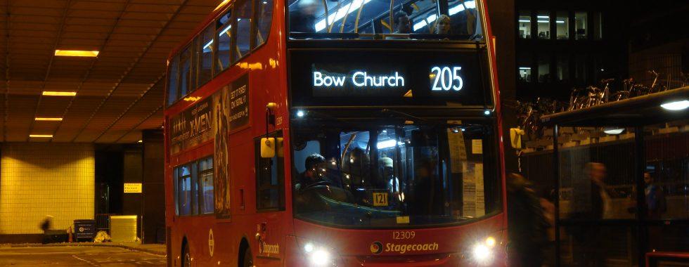 London bus 205