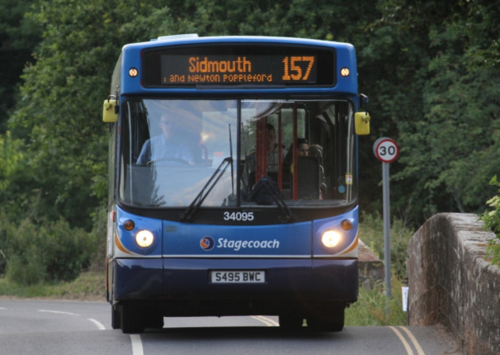 #AYearOfBuses 157: Exmouth – Sidmouth