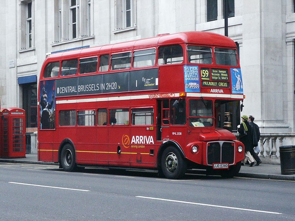 #AYearOfBuses 159: Streatham – Marble Arch