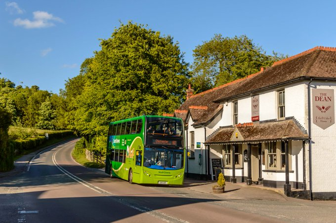 #AYearOfBuses 160: South Downs Chichester – Midhurst