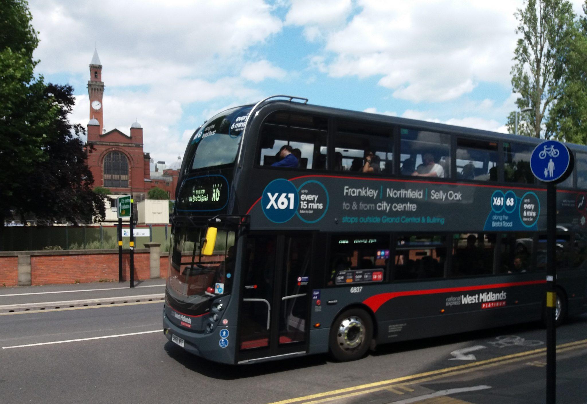 #AYearOfBuses 161: Frankley – Birmingham