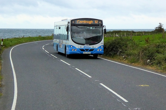 #AYearOfBuses 162: Larne – Carnlough – Ballycastle