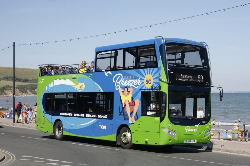 #AYearOfBuses 50: Purbeck Breezer Bournemouth – Swanage