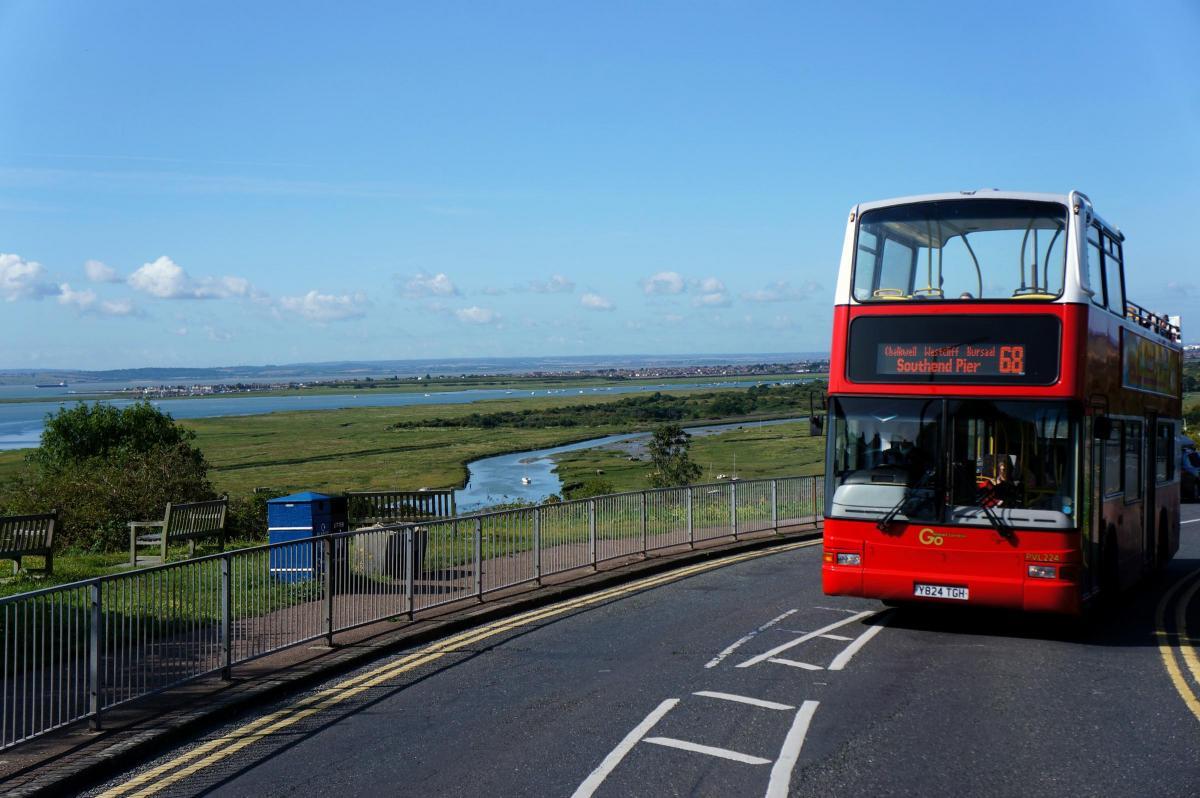 #AYearOfBuses 168: Southend Pier – Leigh-on-Sea