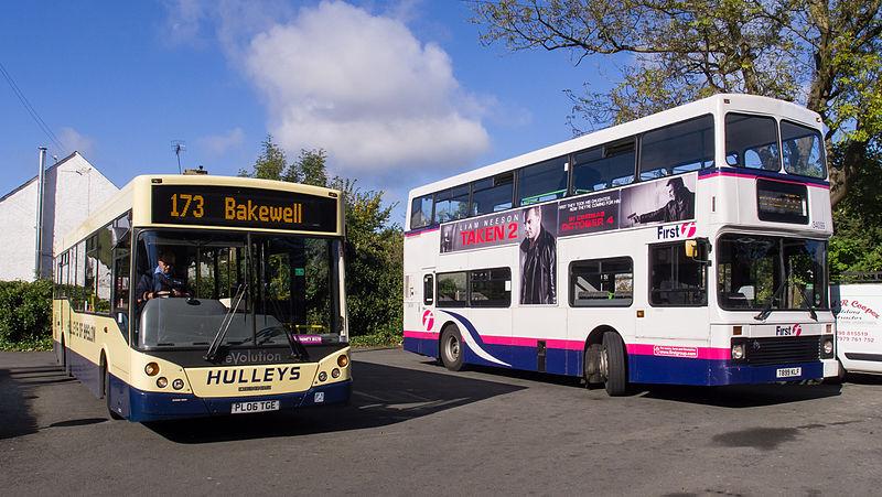 #AYearOfBuses 173: Castleton – Bakewell