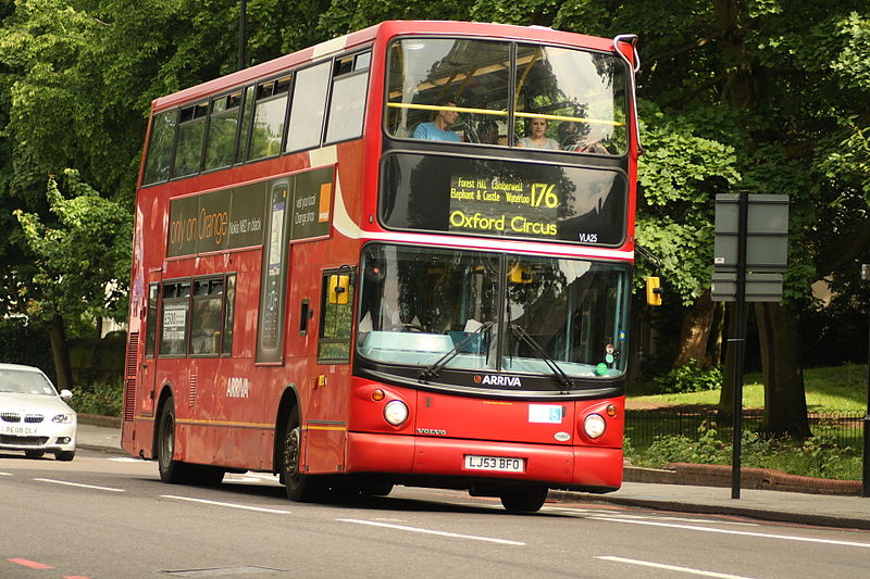 #AYearOfBuses 176: Tottenham Court Road – Penge