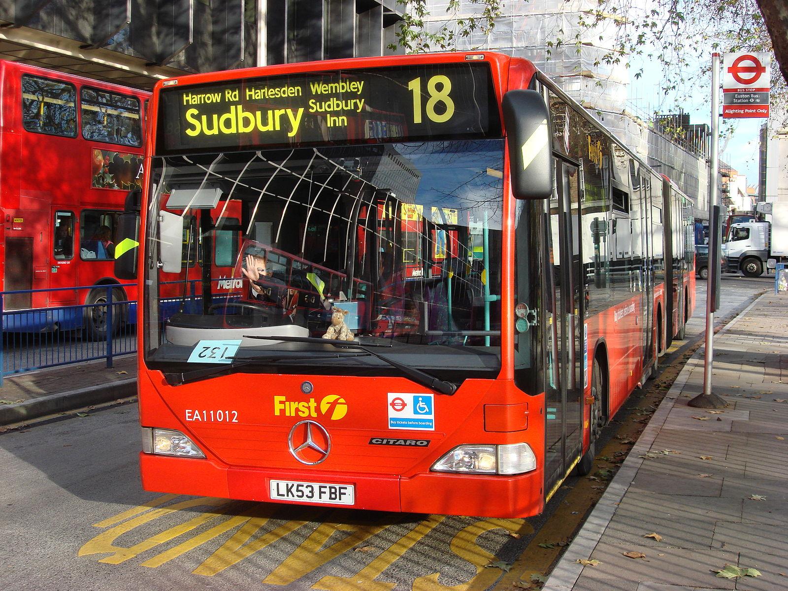 #AYearOfBuses 318: Euston – Sudbury