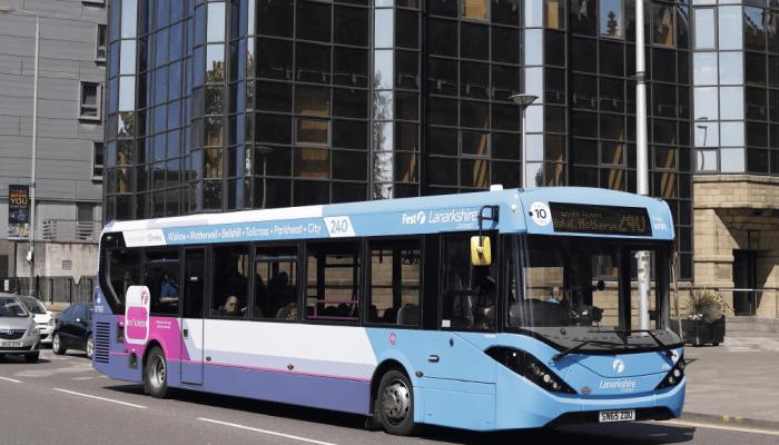 First Glasgow bus 240