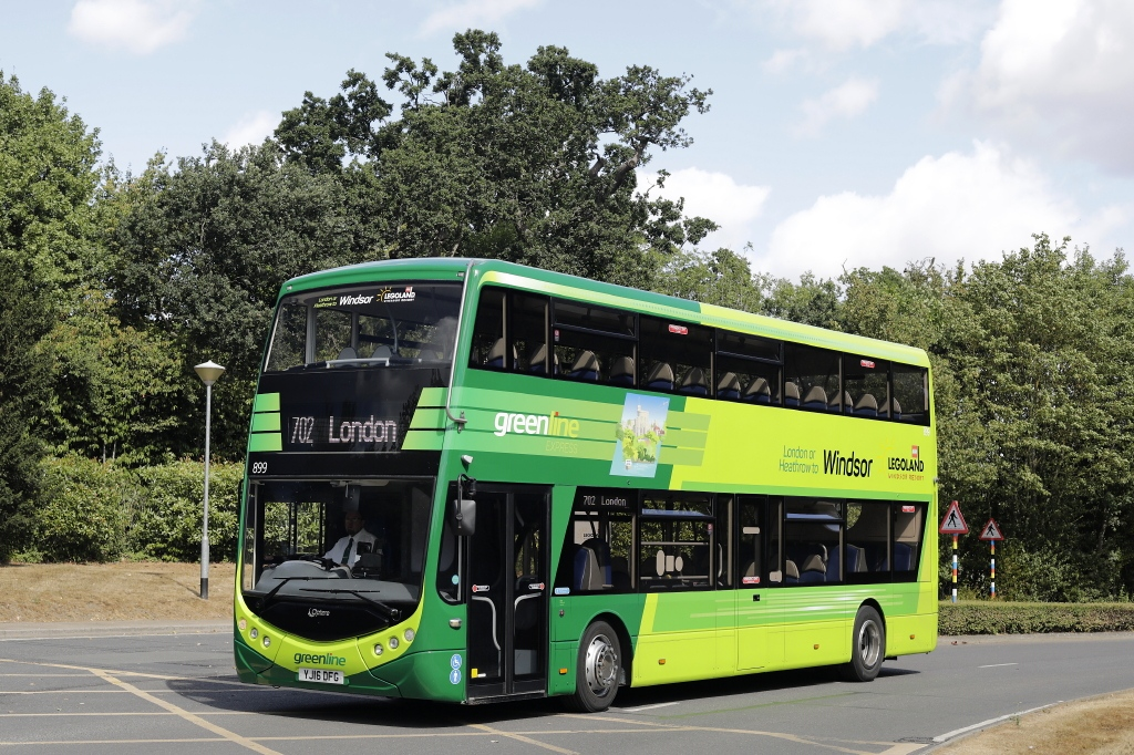 #AYearOfBuses 207: Greenline London – Legoland Windsor