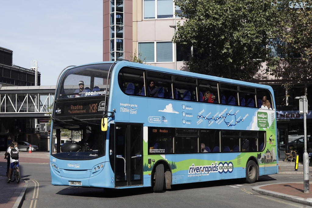 #AYearOfBuses 39: River Rapids Oxford – Reading
