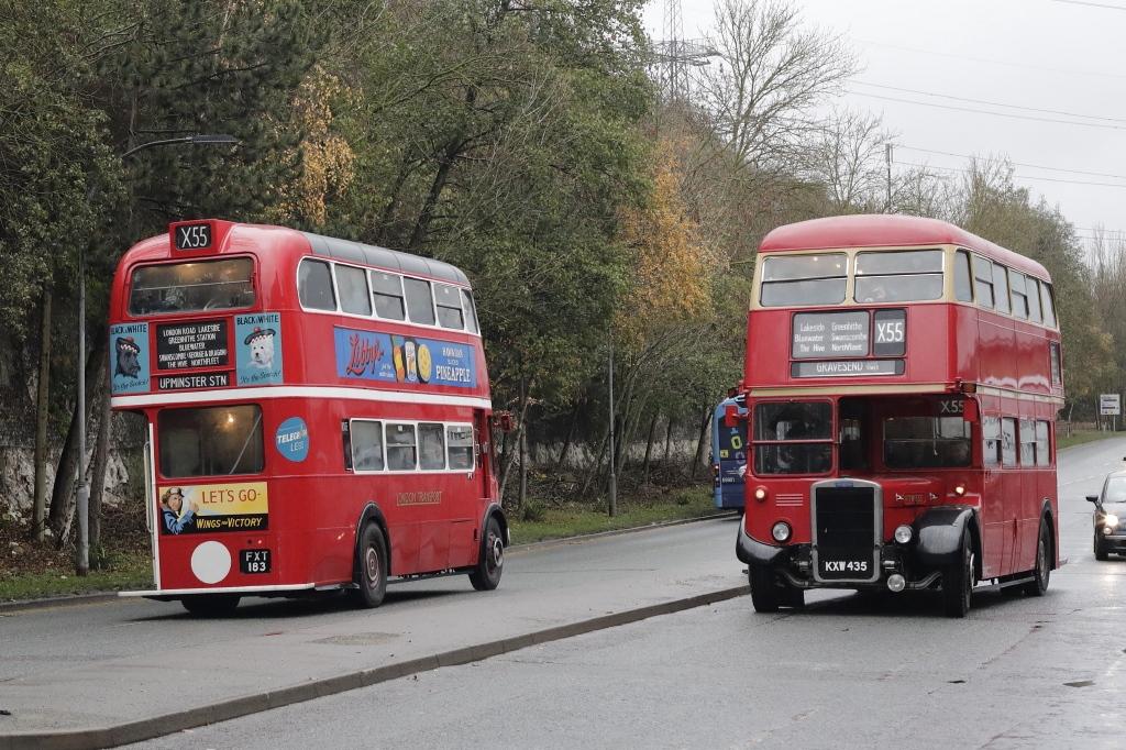 #AYearOfBuses 55: Upminster – Gravesend