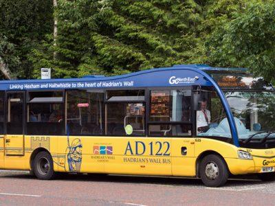 AD122 Hadrians Wall Bus
