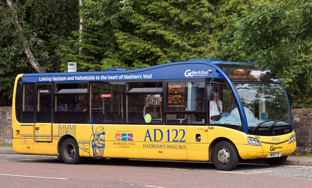 #AYearOfBuses 185: AD122 Hadrian's Wall Country Bus