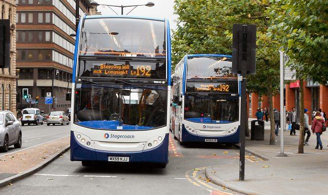 Stagecoach bus 192