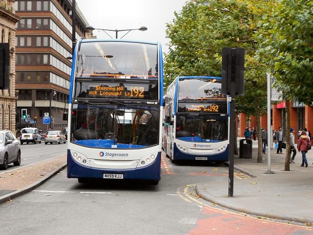 #AYearOfBuses 192: Manchester – Hazel Grove