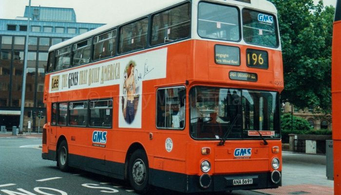 Manchester bus 196