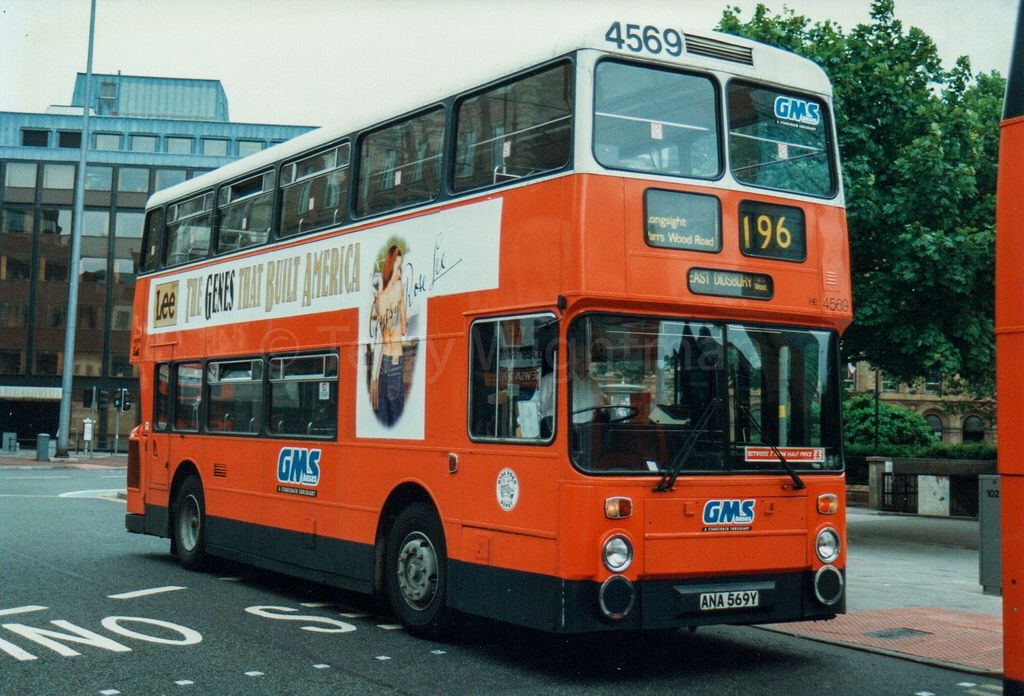 #AYearOfBuses 196: Piccadilly – Manchester Airport