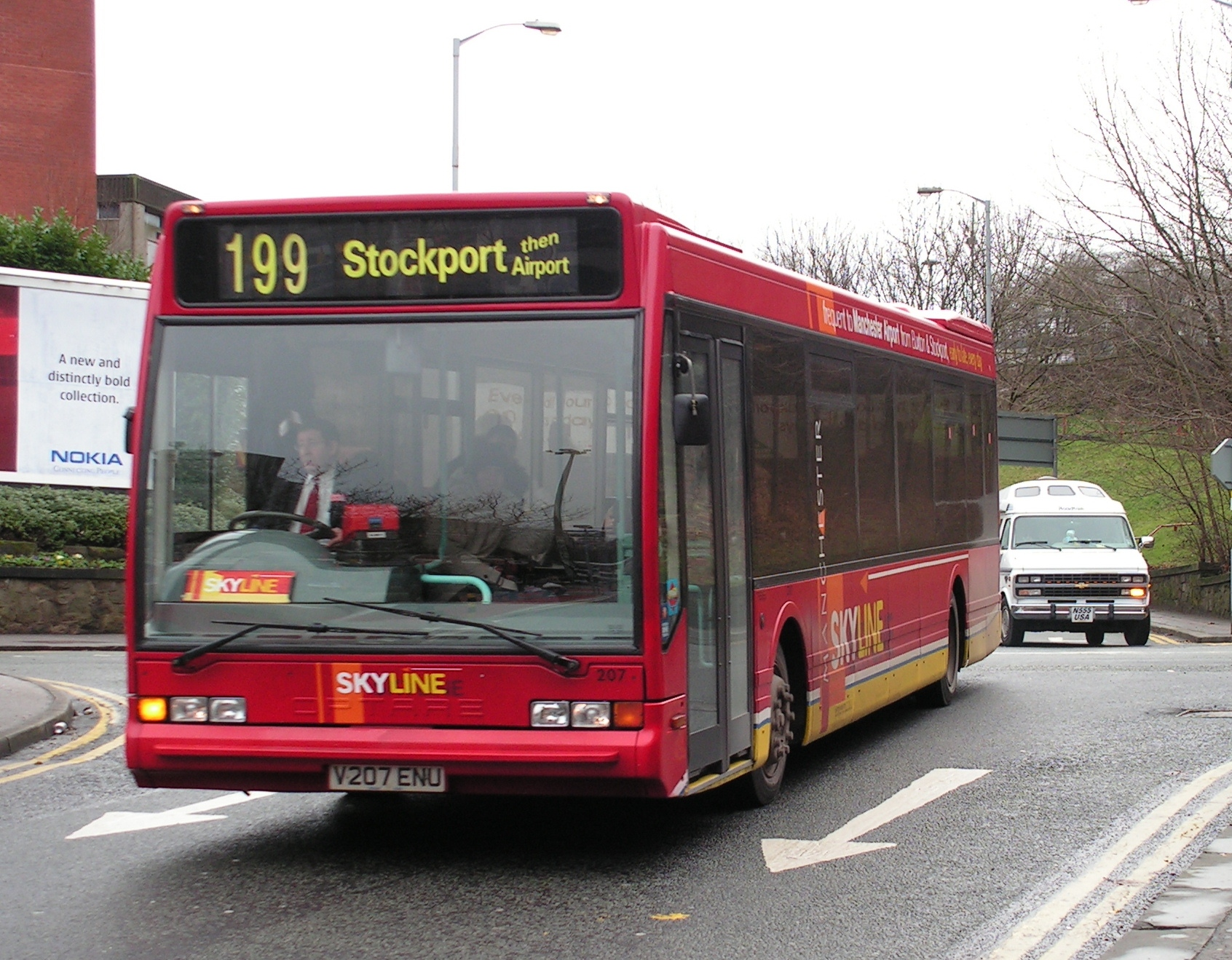 #AYearOfBuses 199: Skyline Buxton – Manchester Airport