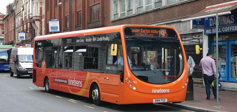 Reading bus 19b