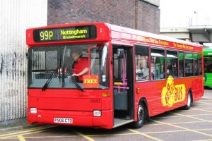 Wellglade's short-lived 'Bargain Bus' operation in Nottingham competed in a bus war with a local independent, Premiere, who folded in January 2013 (a seperate incident). Wellglade operated bargain services under this name - and kept them separate from the premium product, Trent Barton. Bargain Bus is no longer in operation.