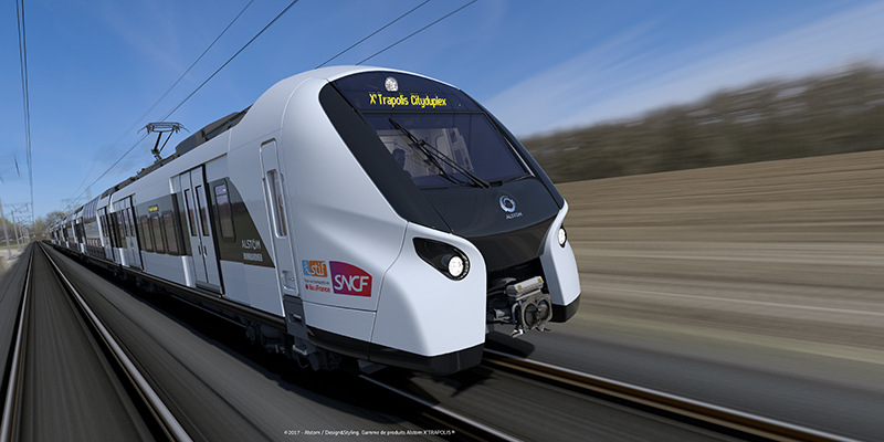 Gigantic order for new double decker trains placed for RER network
