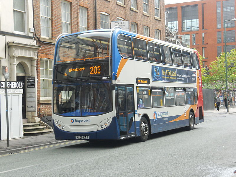 #AYearOfBuses 203: Manchester – Stockport