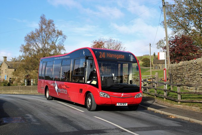 #AYearOfBuses 204: Harrogate Electrics Pateley Bridge – Harrogate