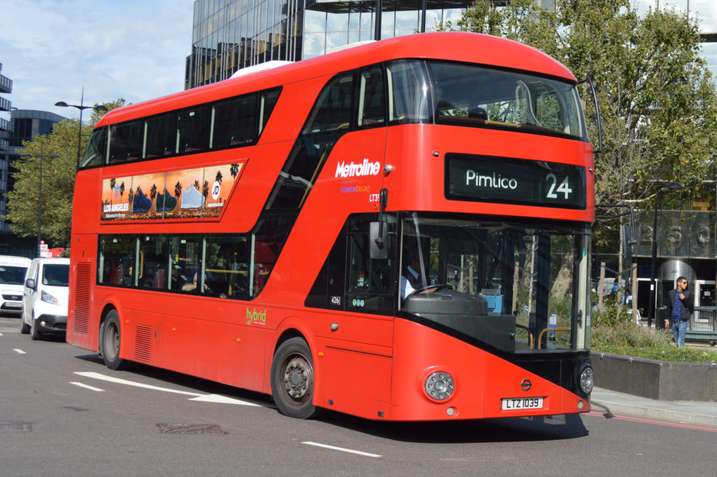 New Routemaster on the 24