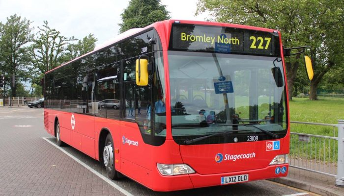 London bus 227