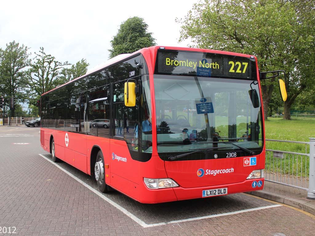 #AYearOfBuses 227: Bromley North – Crystal Palace