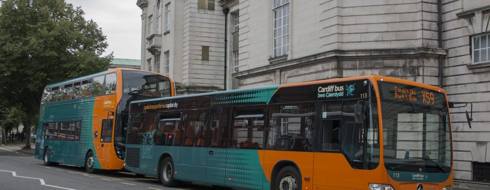 Cardiff Bus X59