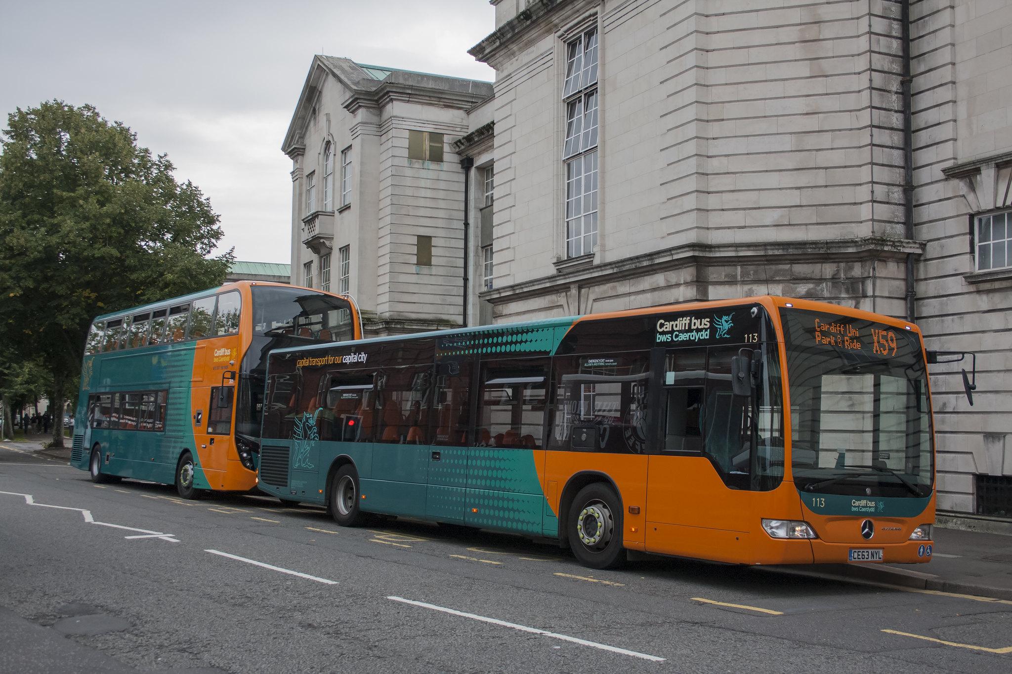 #AYearOfBuses 259: X59 Cardiff Gate – Cardiff