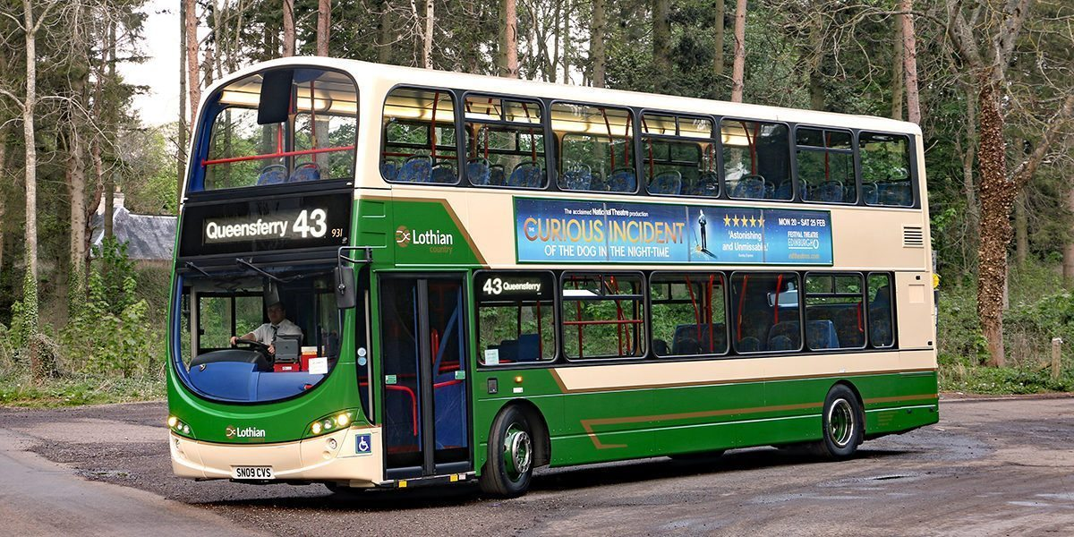 #AYearOfBuses 243: Edinburgh – Queensferry