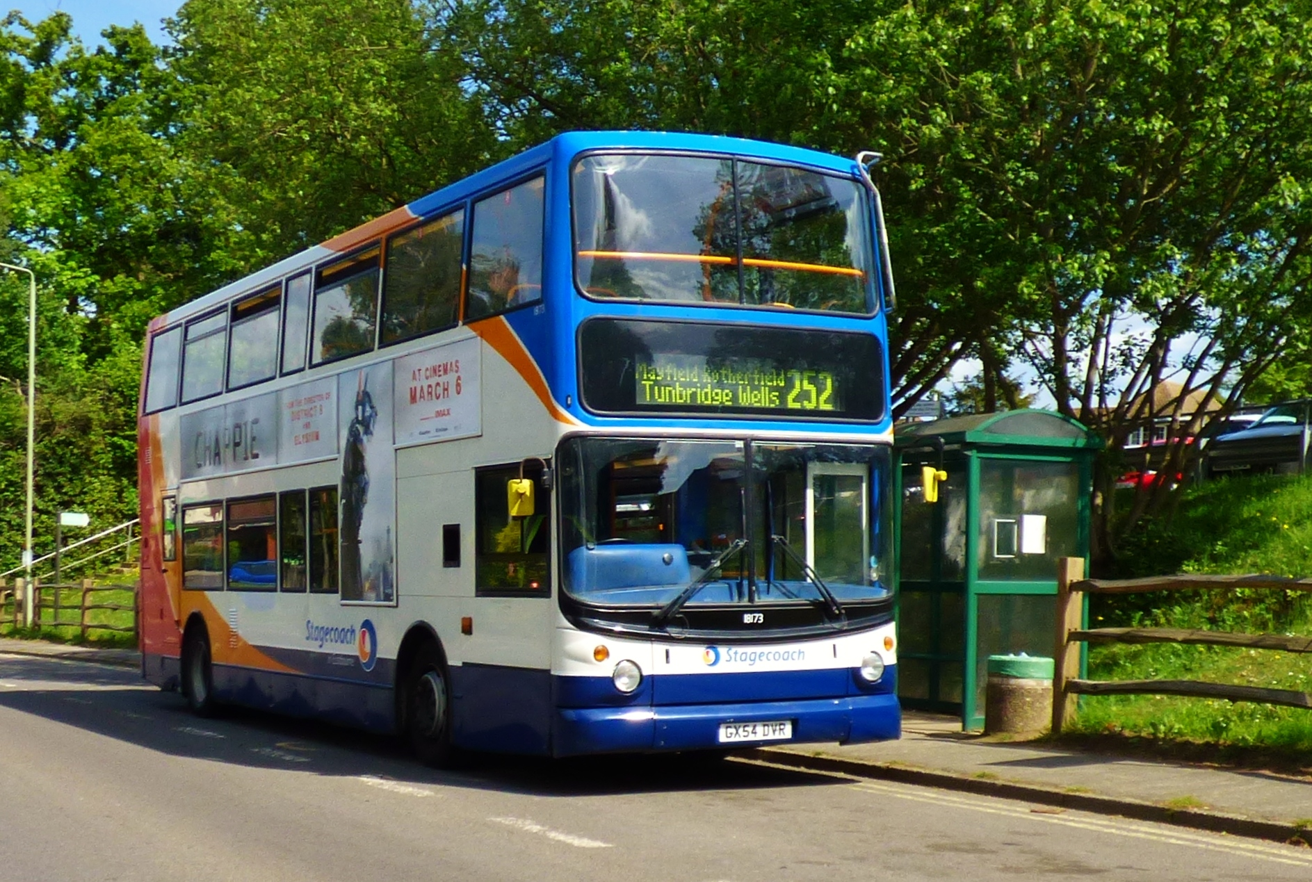 #AYearOfBuses 252: Tunbridge Wells – Heathfield