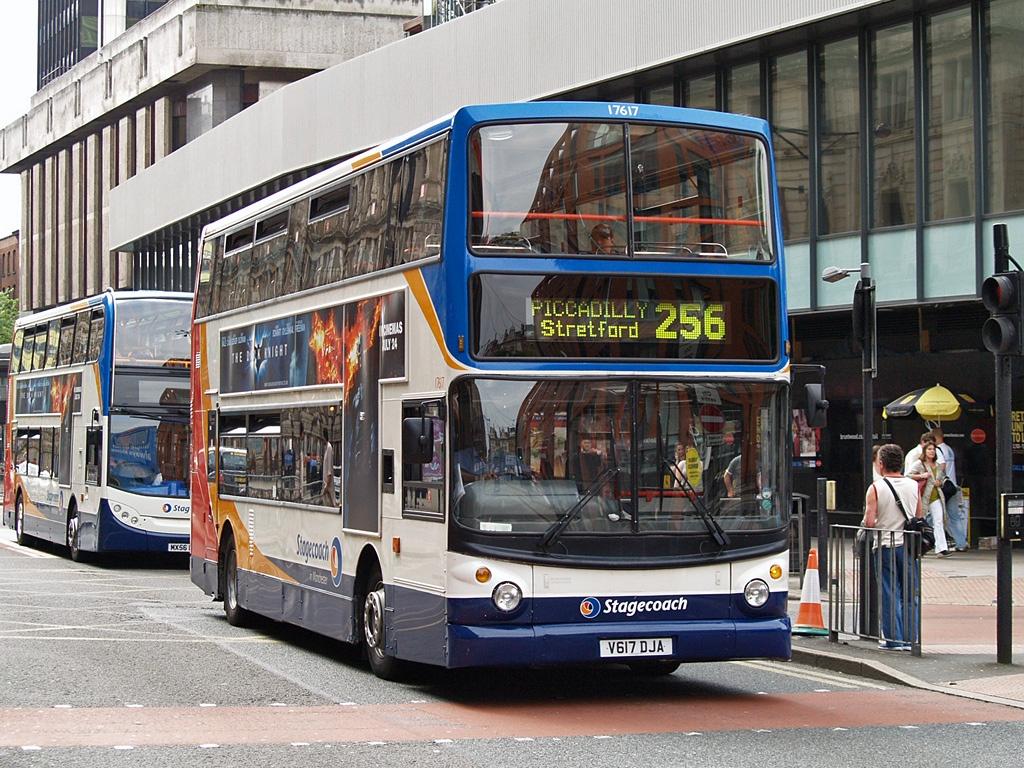 #AYearOfBuses 256: Manchester – Flixton